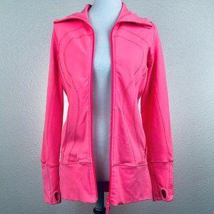 Luluemon Pink Full Zip Sweater Sweatshirt